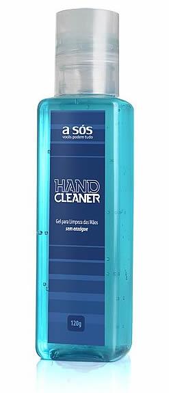 Gel Higienizador Hand Cleaner A SÓS Sem Enxague - 120g