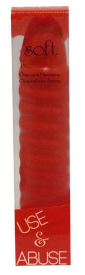 Óleo para Massagem Corporal Use e Abuse Morango com Champagne 150ml Soft Love