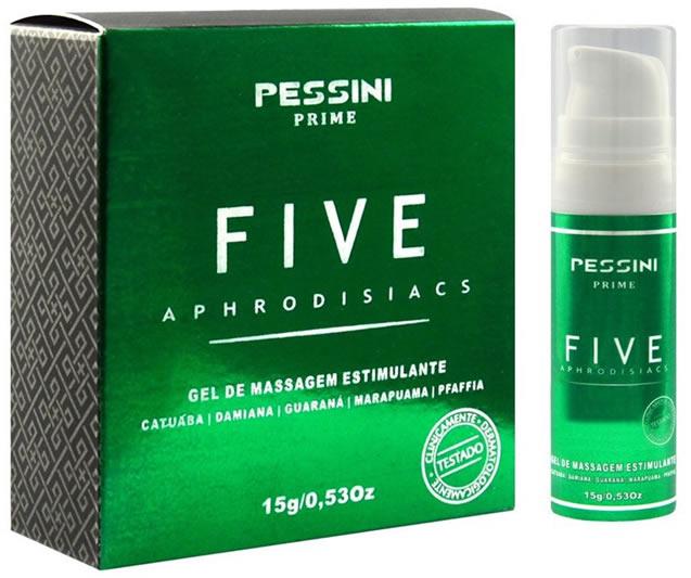 Five Óleo Estimulante e Excitante 15g - Pessini