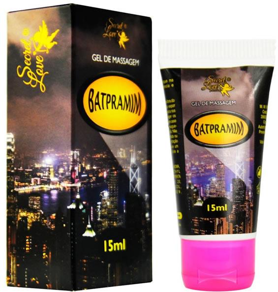 BATPRAMIM - Lubrificante Siliconado (Não Sai na Água) Batpramim 15 ml - Secret Love