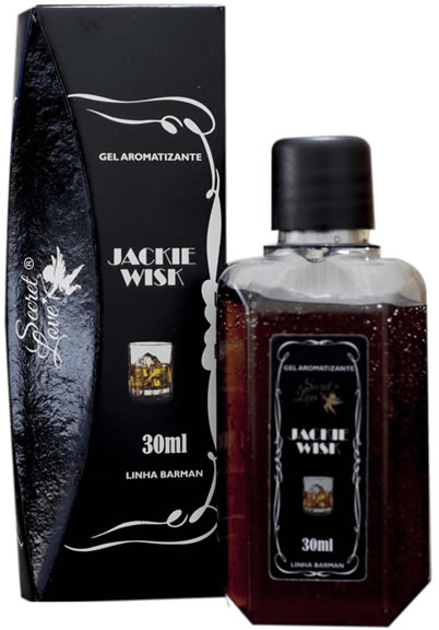 Jackie Wisk - Gel Para Sexo Oral Jackie (Sabor Whisky Com Guaraná) 30 ml - Secret Love