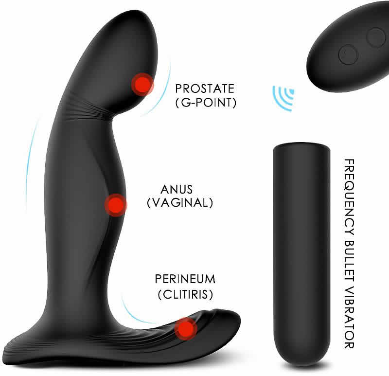 Estimulador de Próstata Recarregável - Zeus RCT