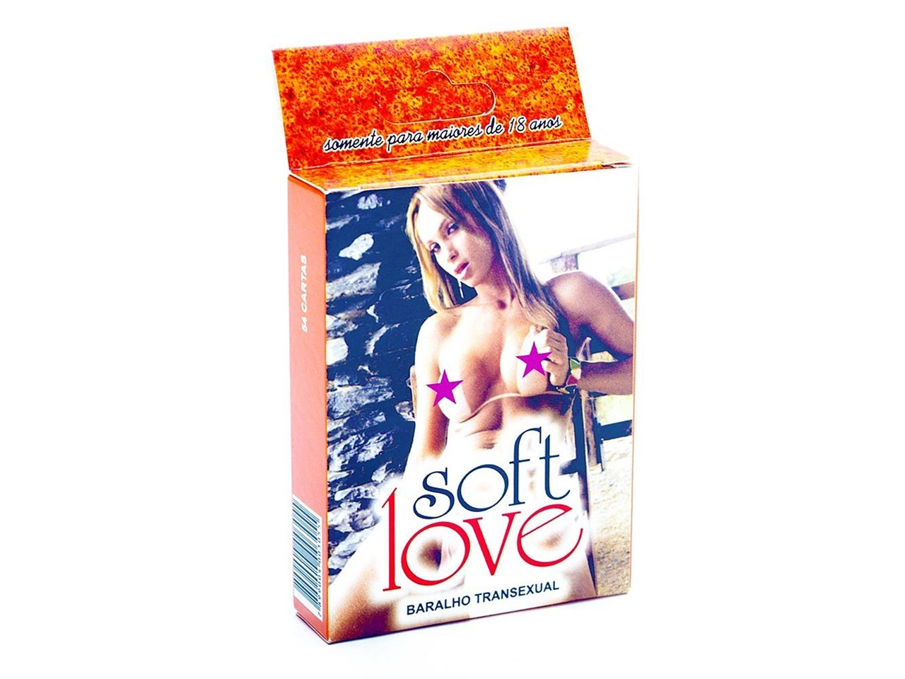 Baralho Erótico Transexual 54 Cartas  - Soft Love