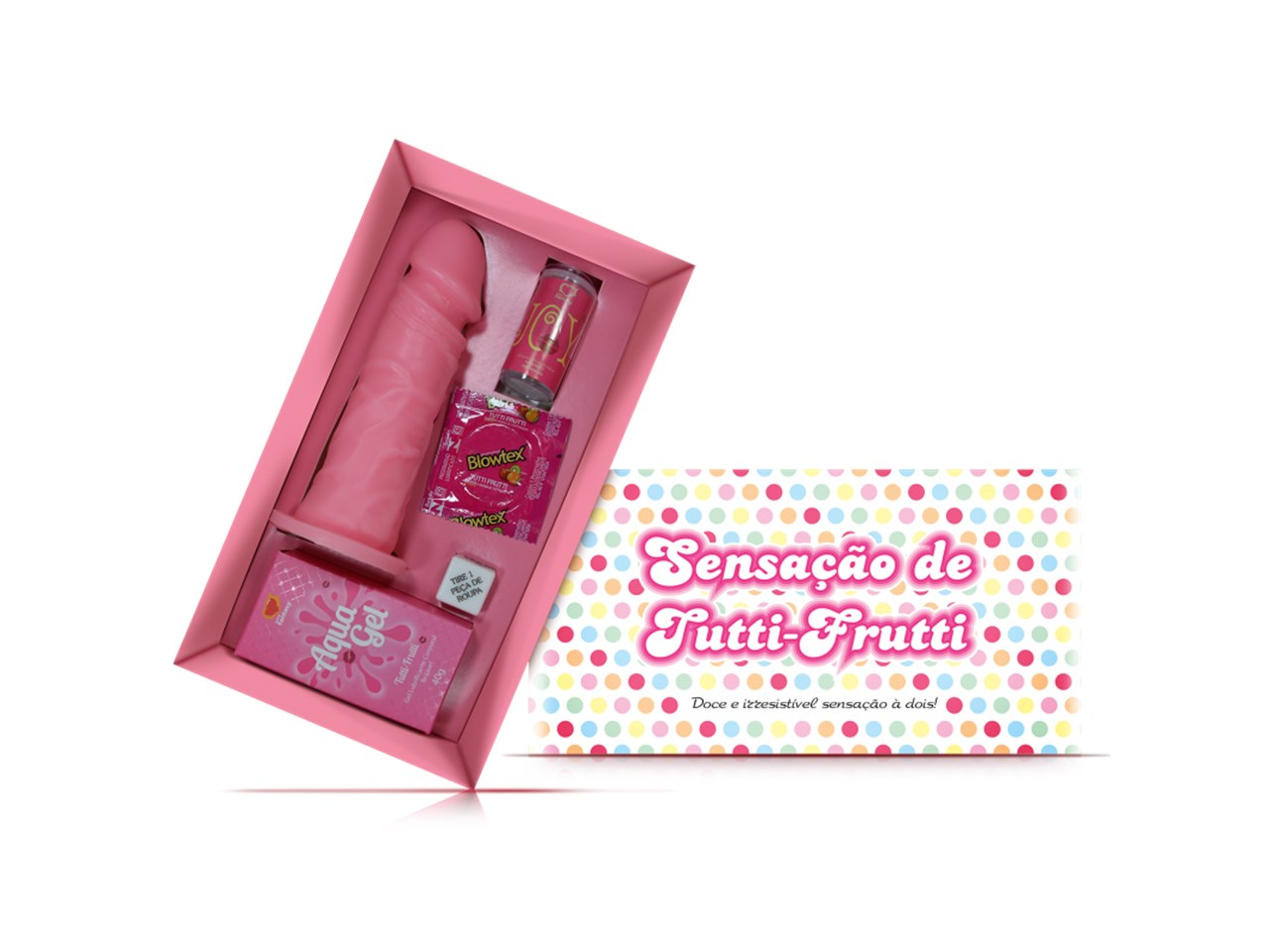 Kit Erótico Sensação de Tutti-Frutti - Sexy Fantasy