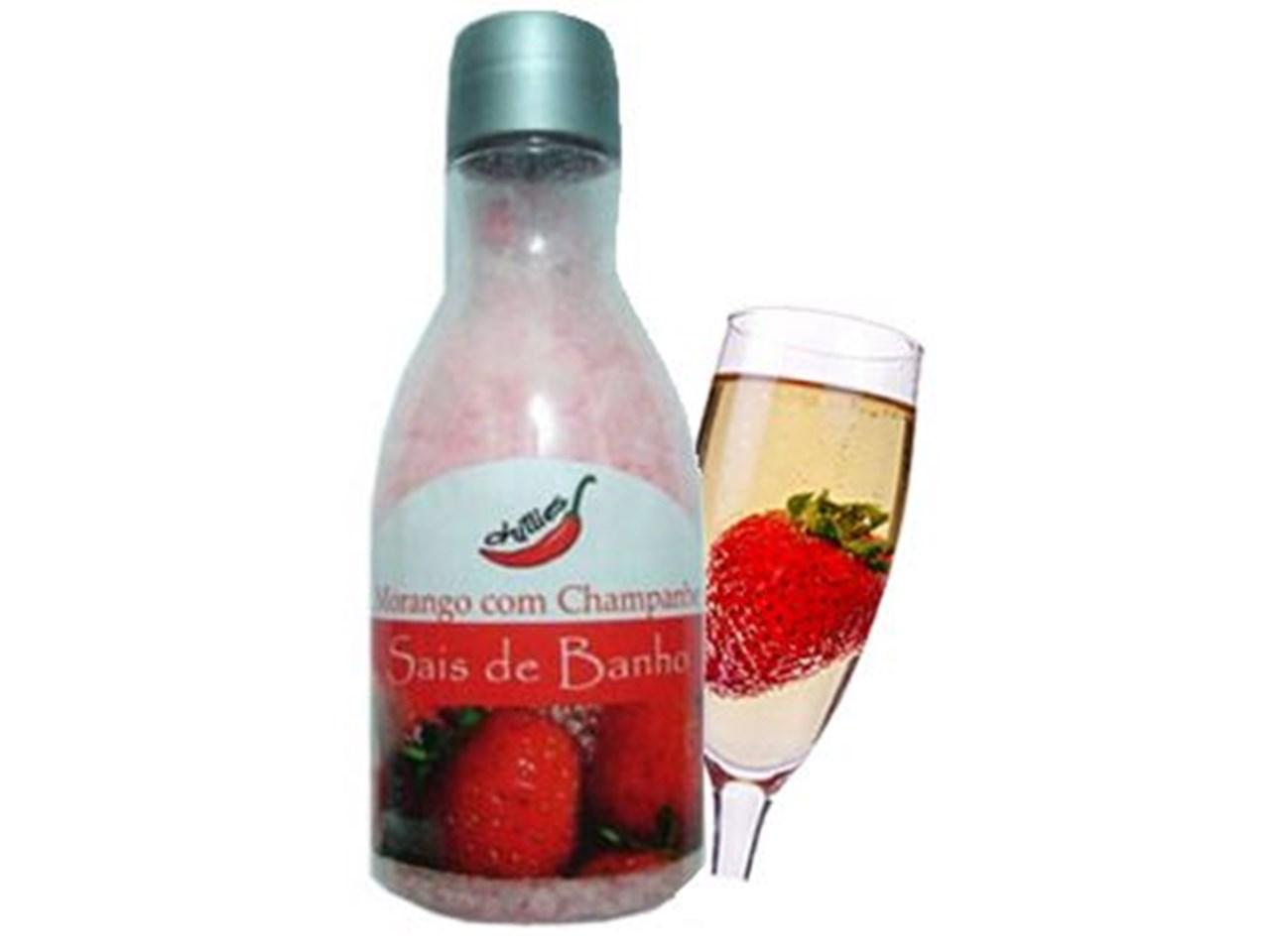 Sais de Banho - Morango com Champagne 80g - Chillies